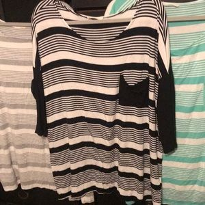 Entro striped tunic